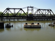 Abandoned Rail Trestle across Fox River - Green Bay